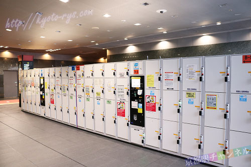 京都駅のコインロッカー