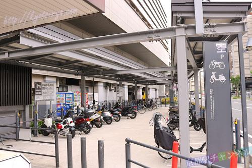 京都駅周辺の駐輪場
