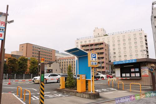 京都駅周辺の駐車場