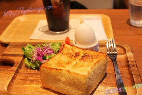 小川珈琲のモーニングトースト