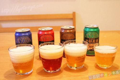 黄桜酒造の地ビール「京都麦酒」シリーズ