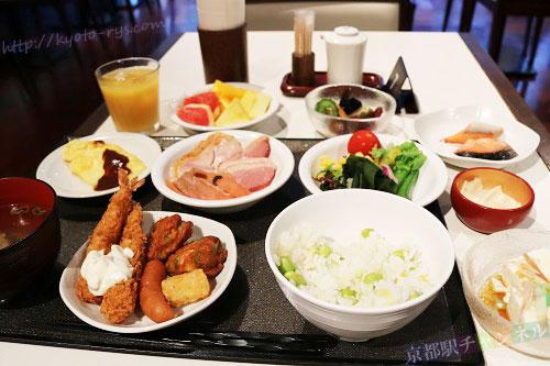 ドーミインプレミアム京都駅前の朝食