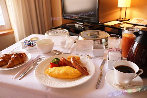 ホテルグランヴィア京都の朝食