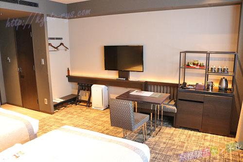 ホテル京阪京都八条口の客室