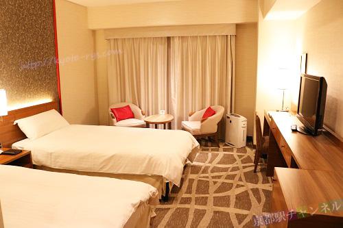 都ホテル京都八条のスーペリアツインルーム
