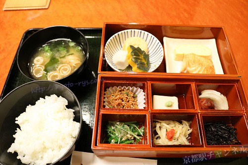 都ホテル京都八条の朝食