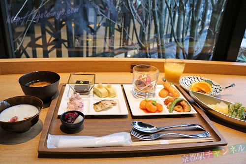 ロイヤルツインホテル京都八条口の朝食
