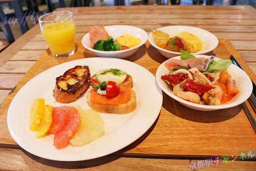 サクラテラス ザ ギャラリーの朝食ブッフェ
