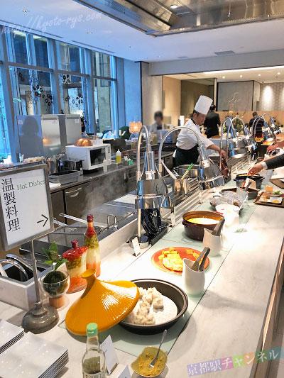 ホテルヴィスキオ京都の朝食ブッフェ