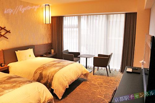 ホテルヴィスキオ京都のツインルーム