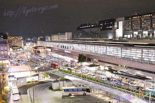 京都駅の八条口