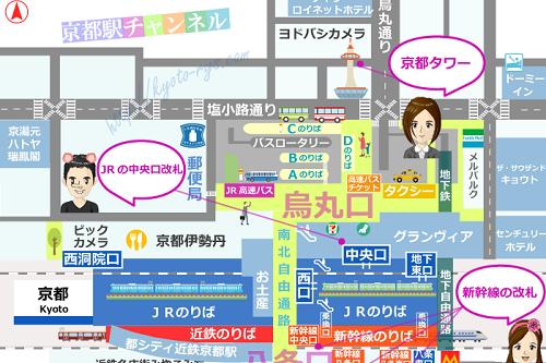 京湯元ハトヤ瑞鳳閣のマップ