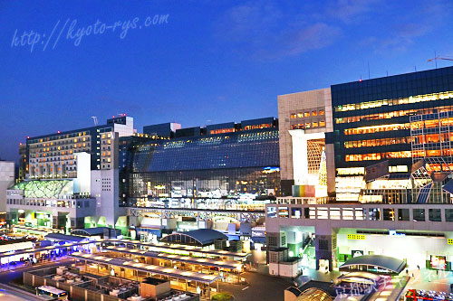 京都駅のみどりの窓口や切符売り場