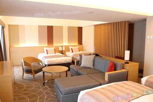 京都リーガロイヤルホテルのファミリルーム
