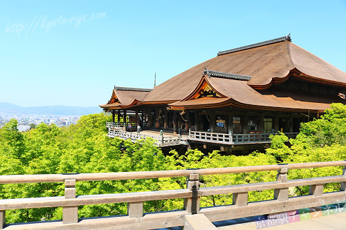 清水寺の大舞台