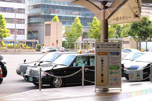 京都駅のタクシー乗り場